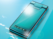 太陽電池パネル携帯電話