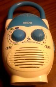 ミニシャワーラジオ