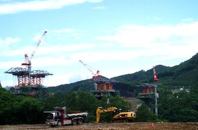 八ツ場ダム建設地