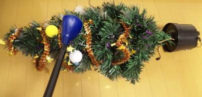 クリスマスツリーのラフ